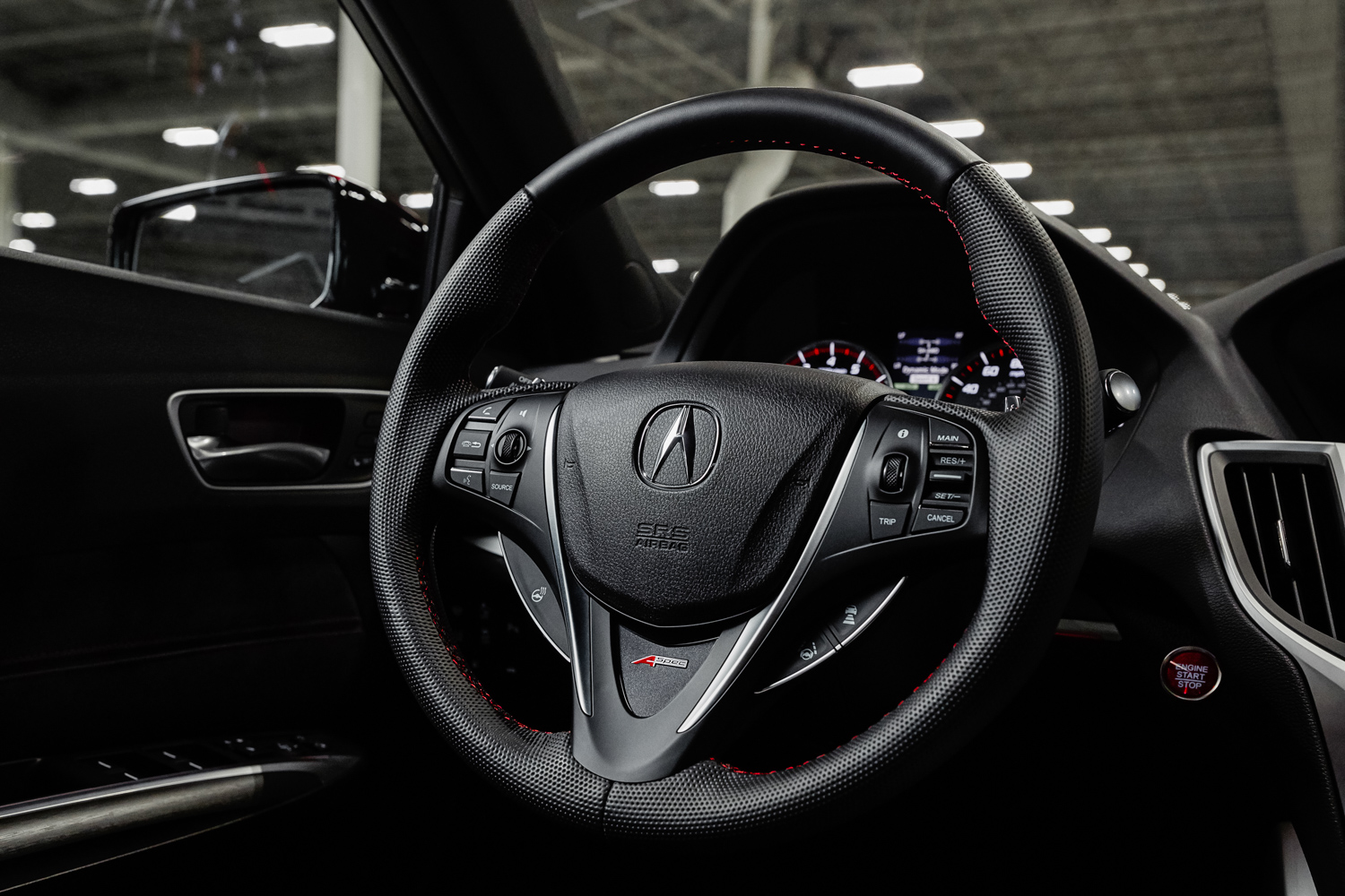 2020 Acura TLX PMC Edition steering wheel