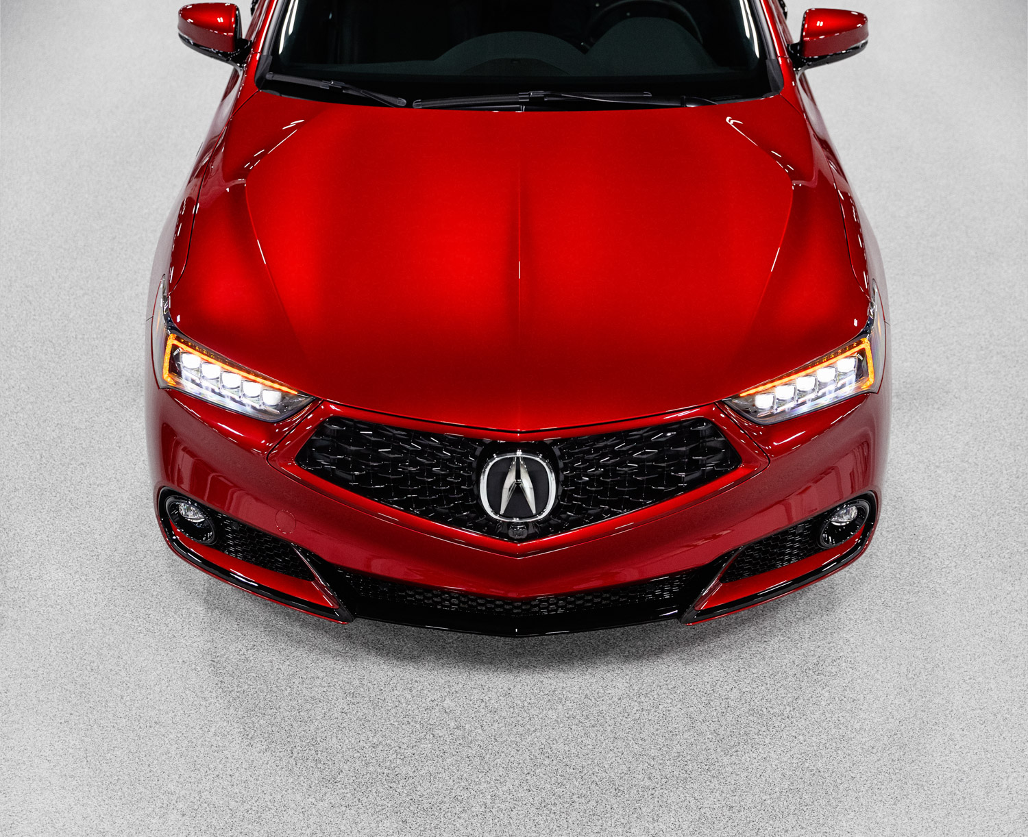 2020 Acura TLX PMC Edition hood front end