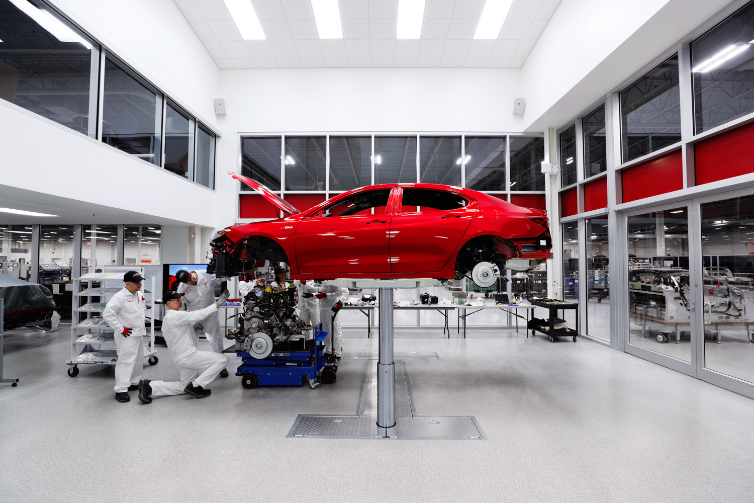 2020 Acura TLX PMC Edition engine install
