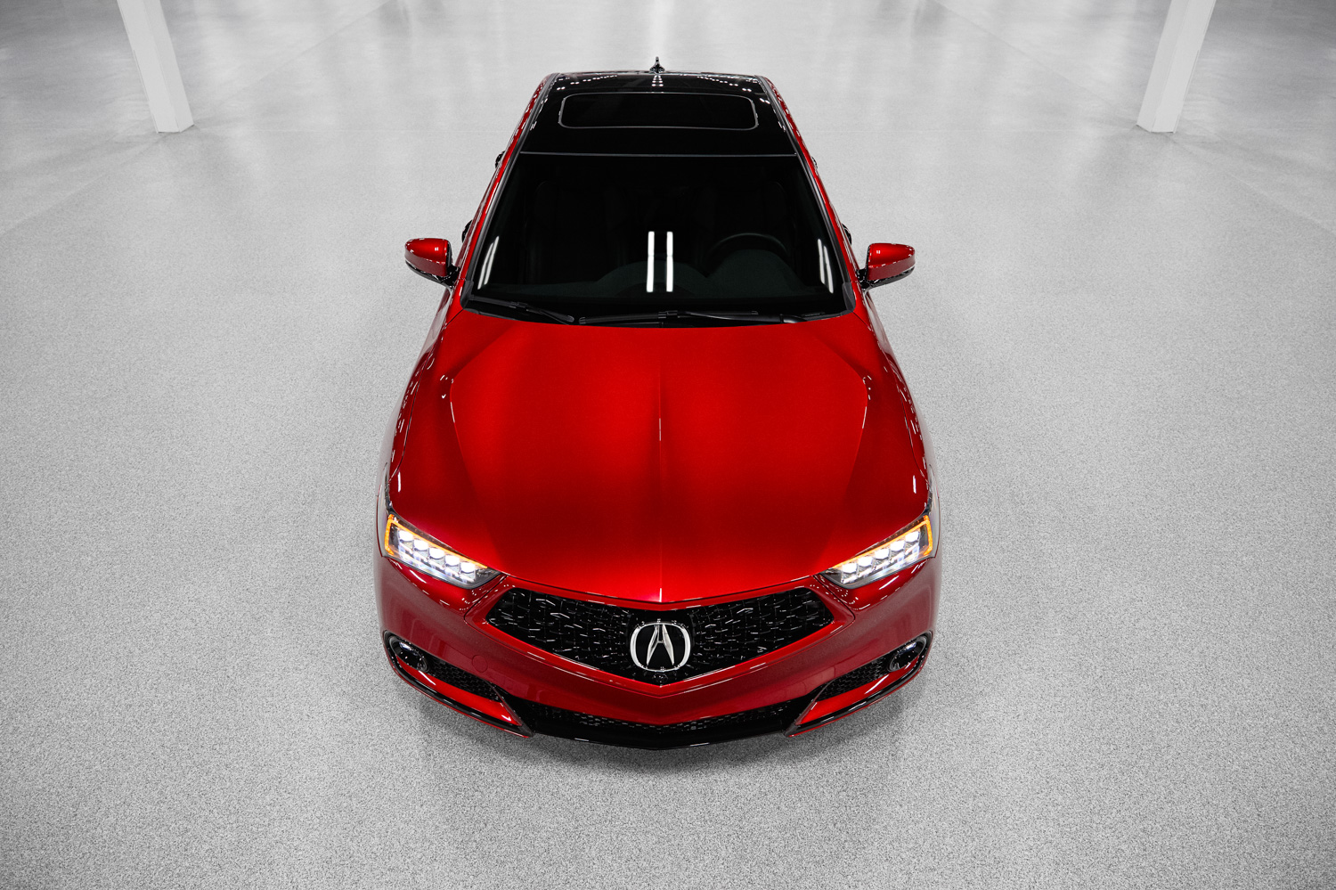 2020 Acura TLX PMC Edition top down