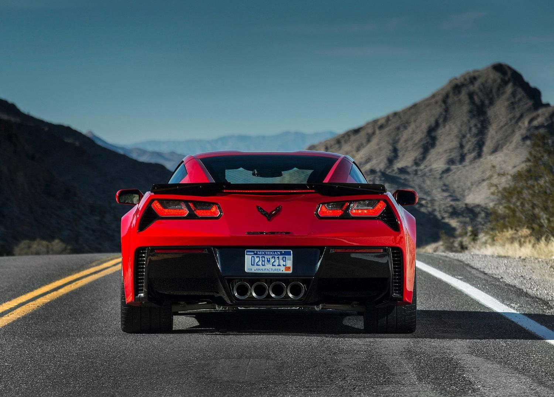 2015 Chevrolet Corvette Z06 rear end