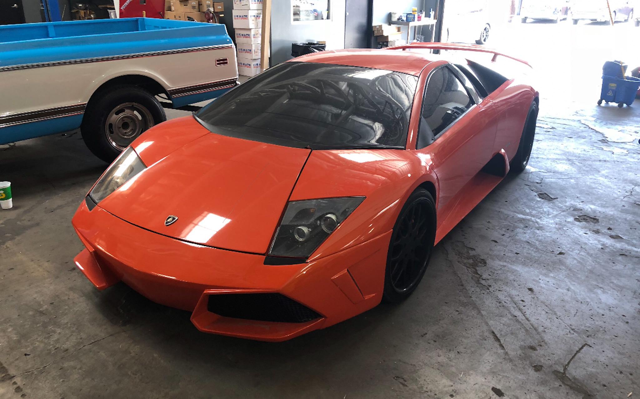 Lamborghini Murcielago front 3/4