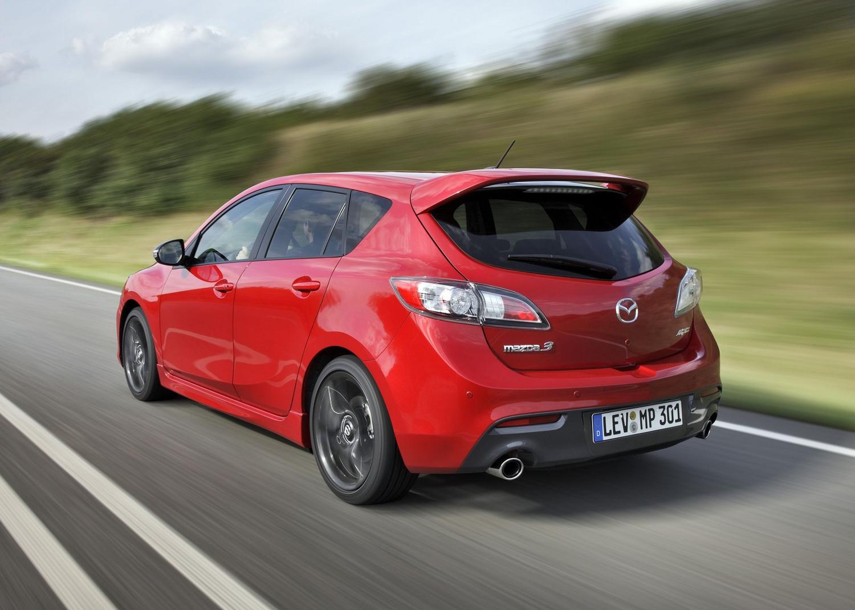 2013 Mazdaspeed 3 3/4 rear