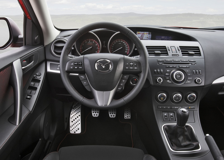 2013 Mazdaspeed 3 interior