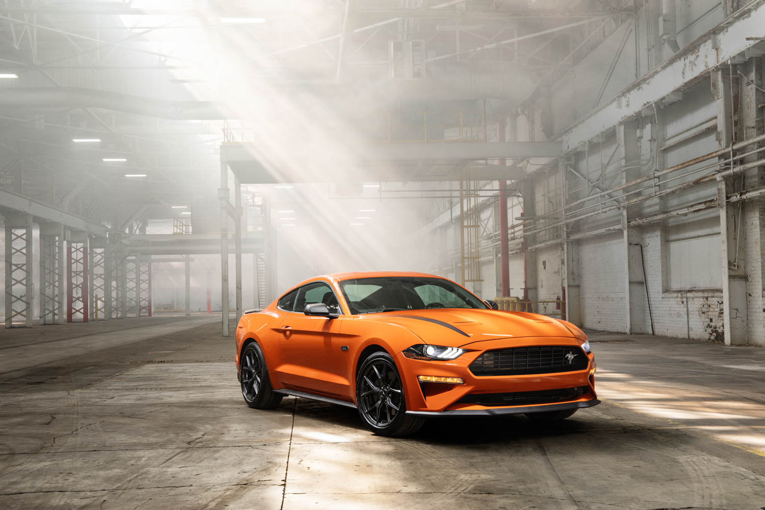 2020 Ford Mustang High Performance Package front 3/4