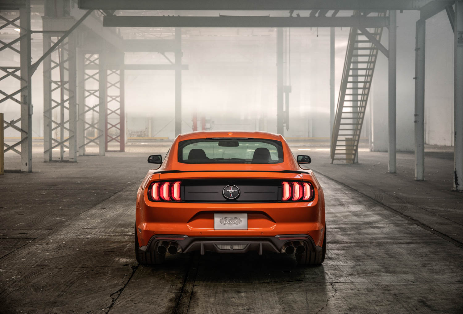 2020 Ford Mustang High Performance Package rear