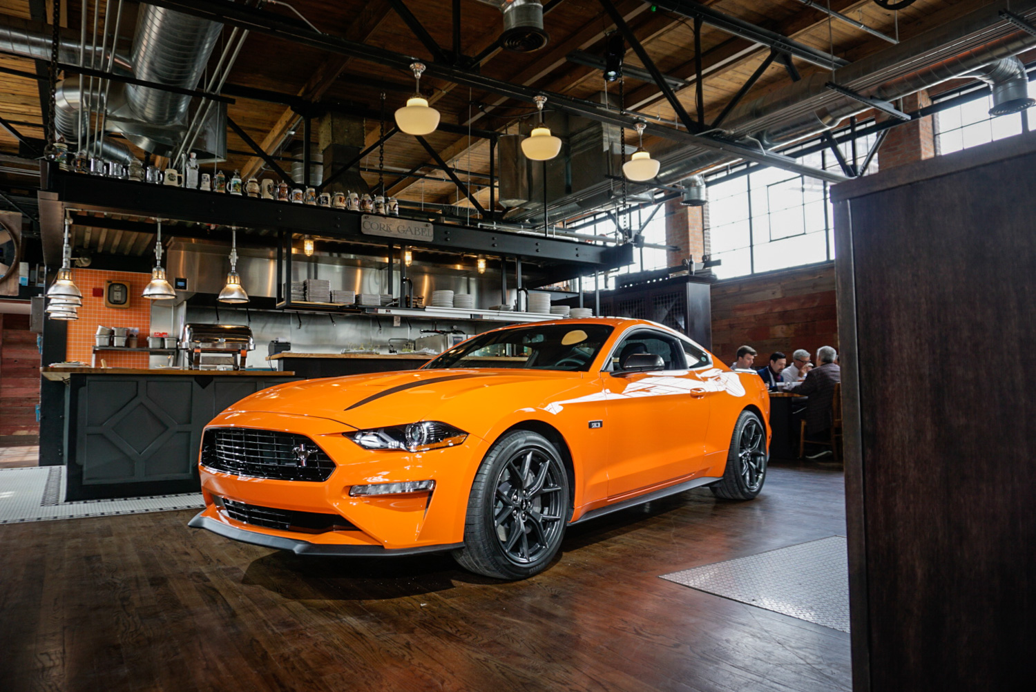 2020 Ford Mustang Ecoboost High Performance Package 3/4 front low