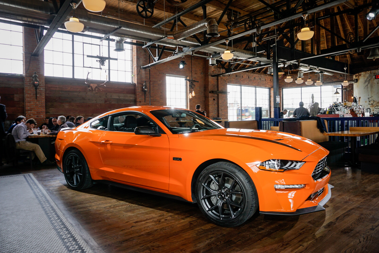 2020 Ford Mustang Ecoboost High Performance Package passenger side