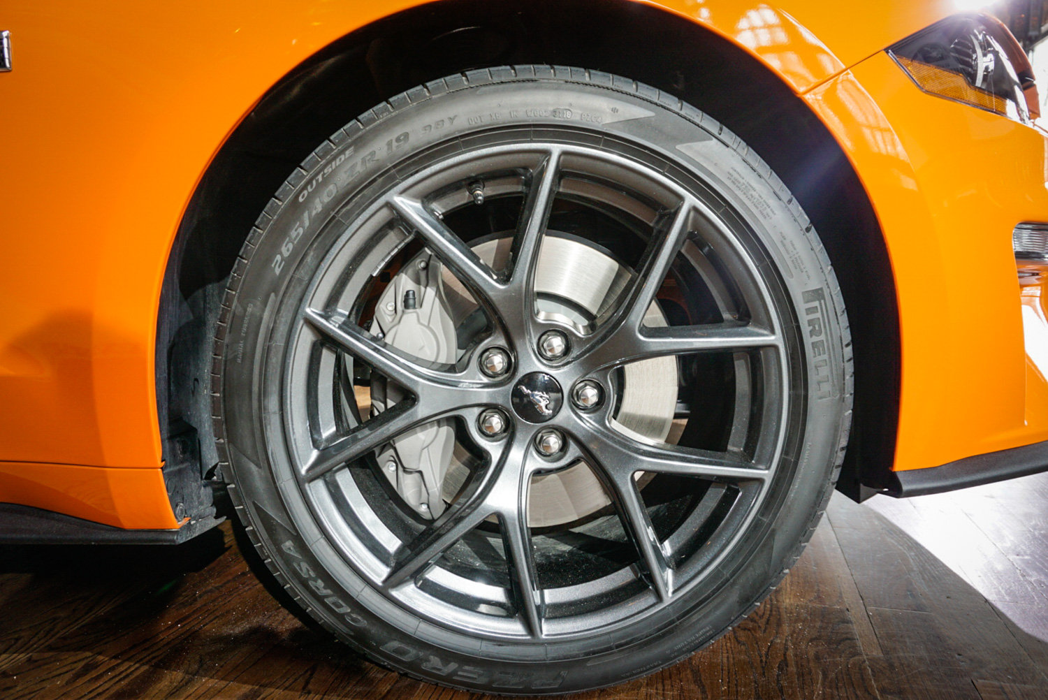 2020 Ford Mustang Ecoboost High Performance Package wheel