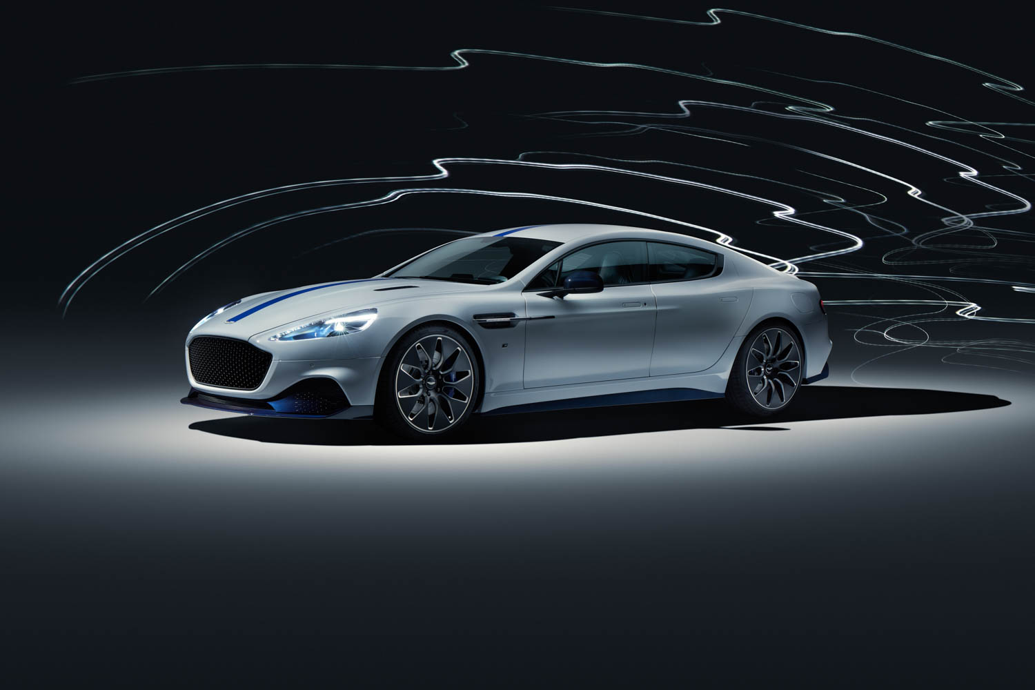 Aston Martin Debuts 600-hp electric Rapide E thumbnail