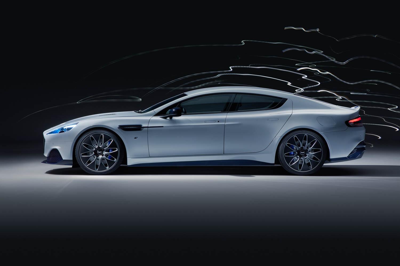 Aston Martin Rapide E side profile