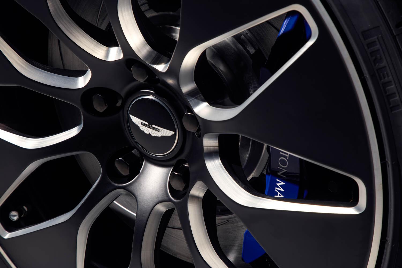 Aston Martin Rapide E wheel detail
