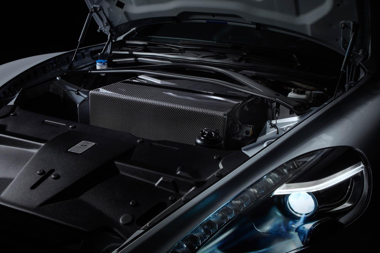 Aston Martin Rapide E engine battery bank