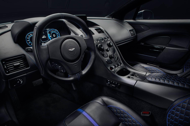 Aston Martin Rapide E interior