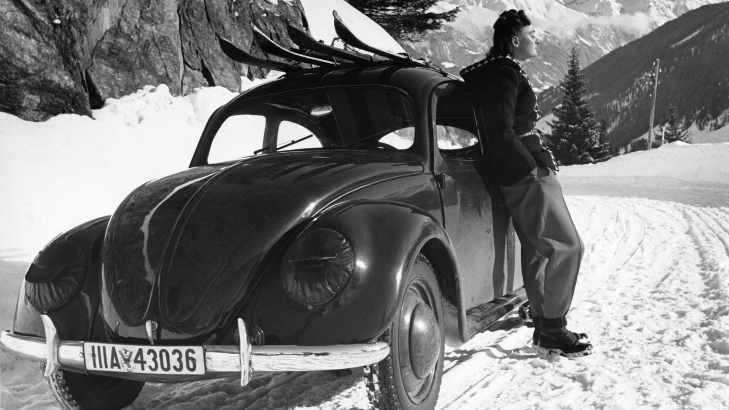 VW 39 prototype in the mountains