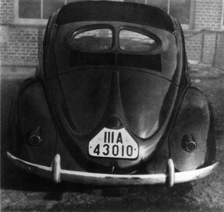 VW 39 prototype rear