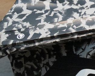 Zora Sticker C8 Corvette side profile