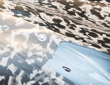 Zora Sticker C8 Corvette headlight