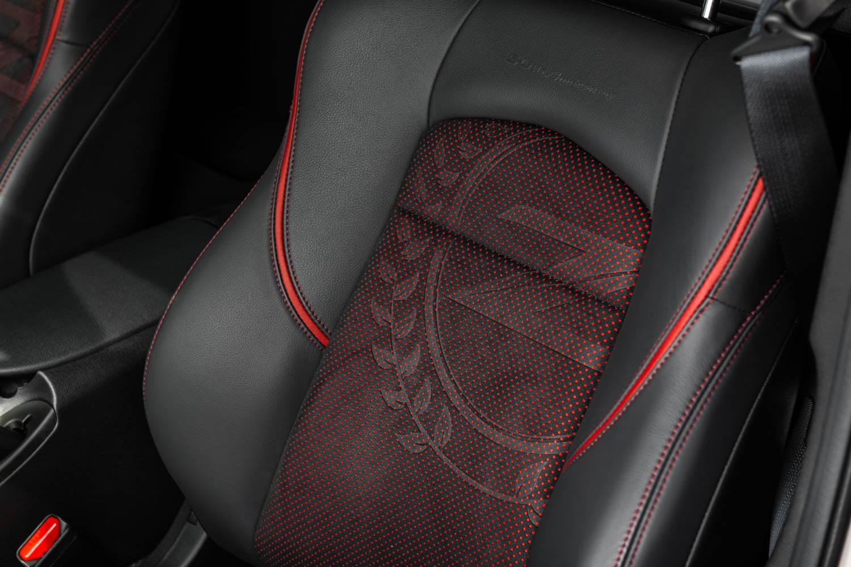 2020 Nissan 370Z 50th Anniversary seat detail