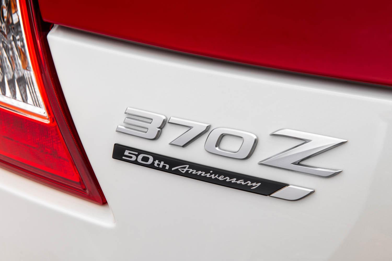 2020 Nissan 370Z 50th Anniversary badge