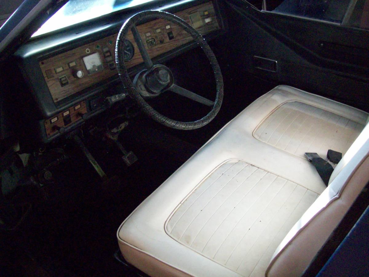 1980 Comuta-Car interior