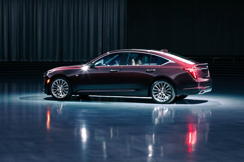 Cadillac CT5 profile
