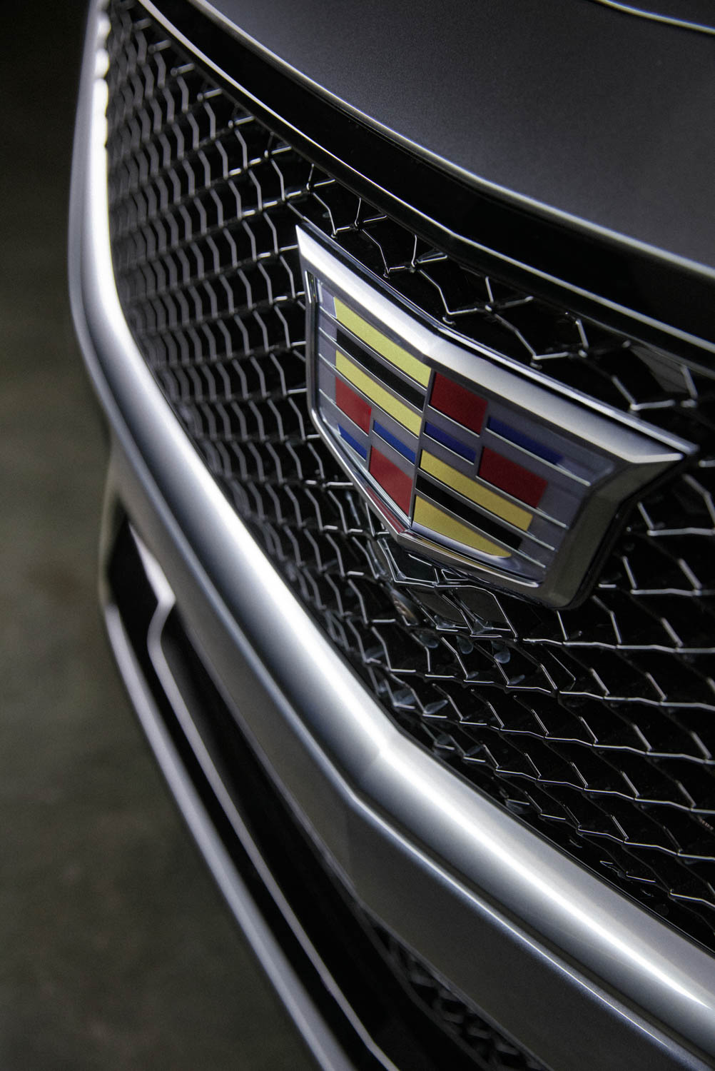 Cadillac CT5 grille