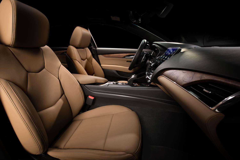Cadillac CT5 seat interior