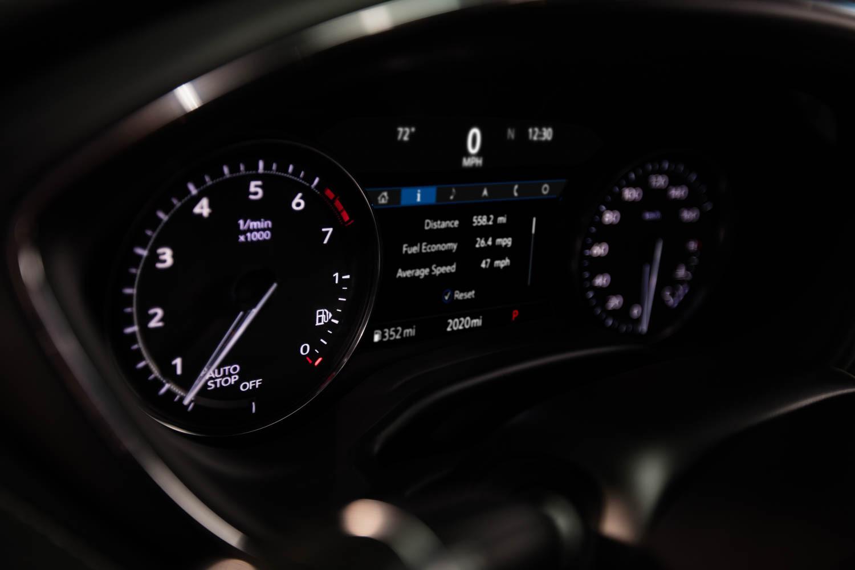 Cadillac CT5 gauges