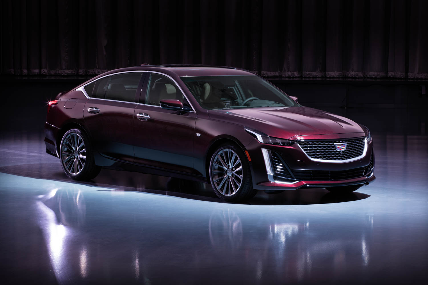 Cadillac CT5 front 3/4