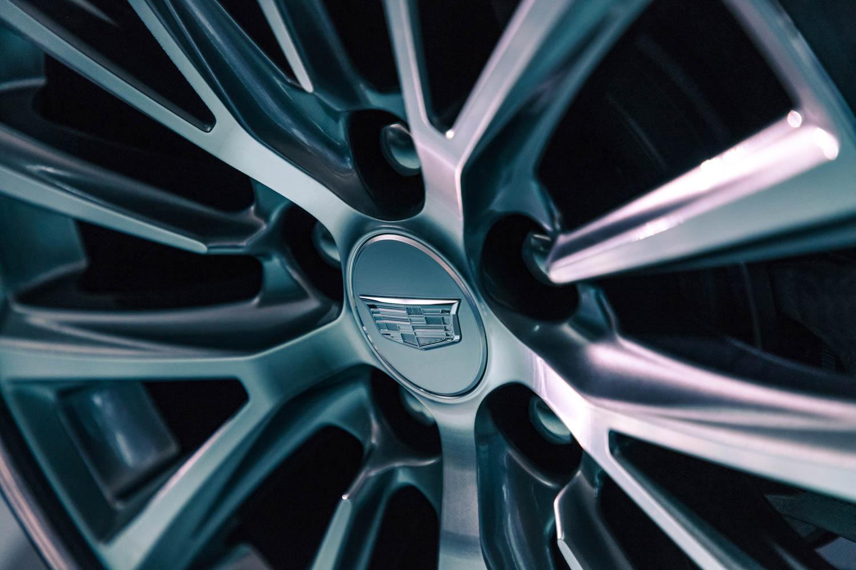 Cadillac CT5 wheel detail