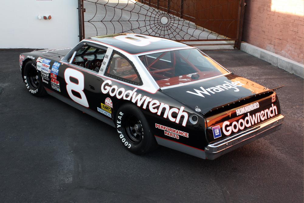 "1977 Chevrolet Nova ""Dale Earnhardt NASCAR"" 3/4 rear"