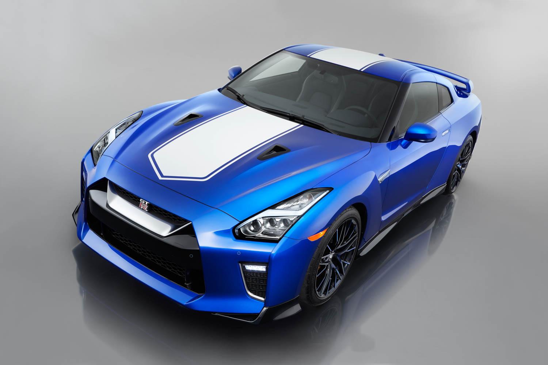Nissan 50th Anniversary GT-R overhead