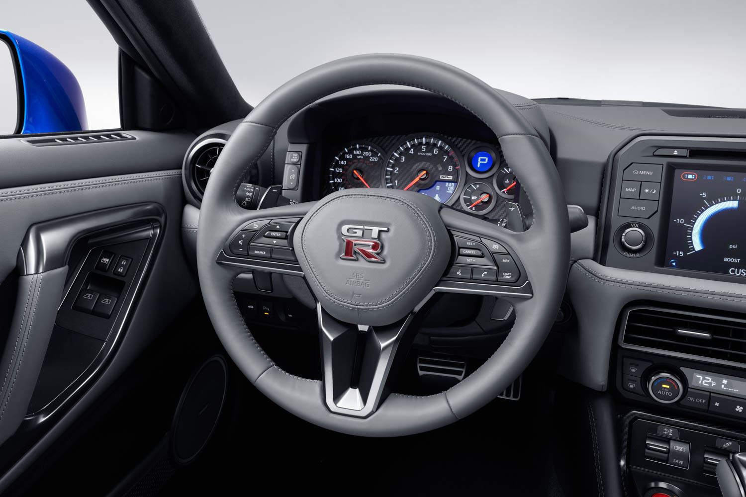 Nissan 50th Anniversary GT-R steering wheel