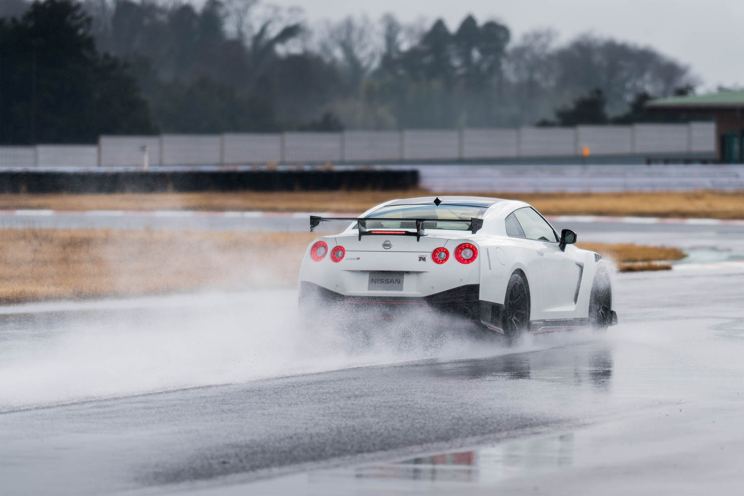 Nissan GT-R NISMO driving