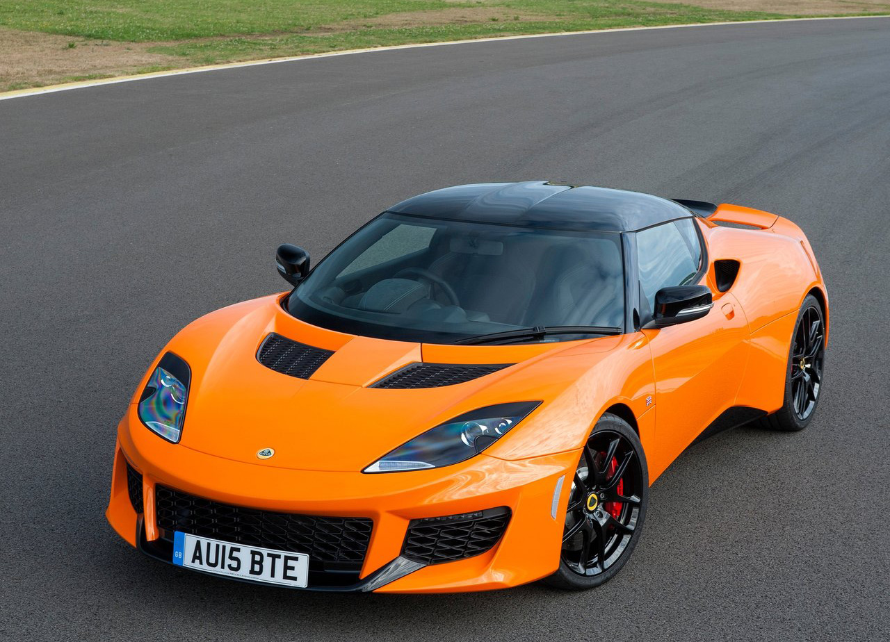 2016 Lotus Evora 400 front 3/4