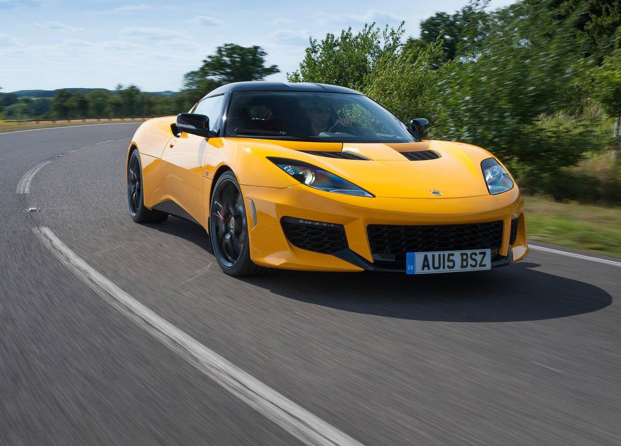 2016 Lotus Evora 400 driving
