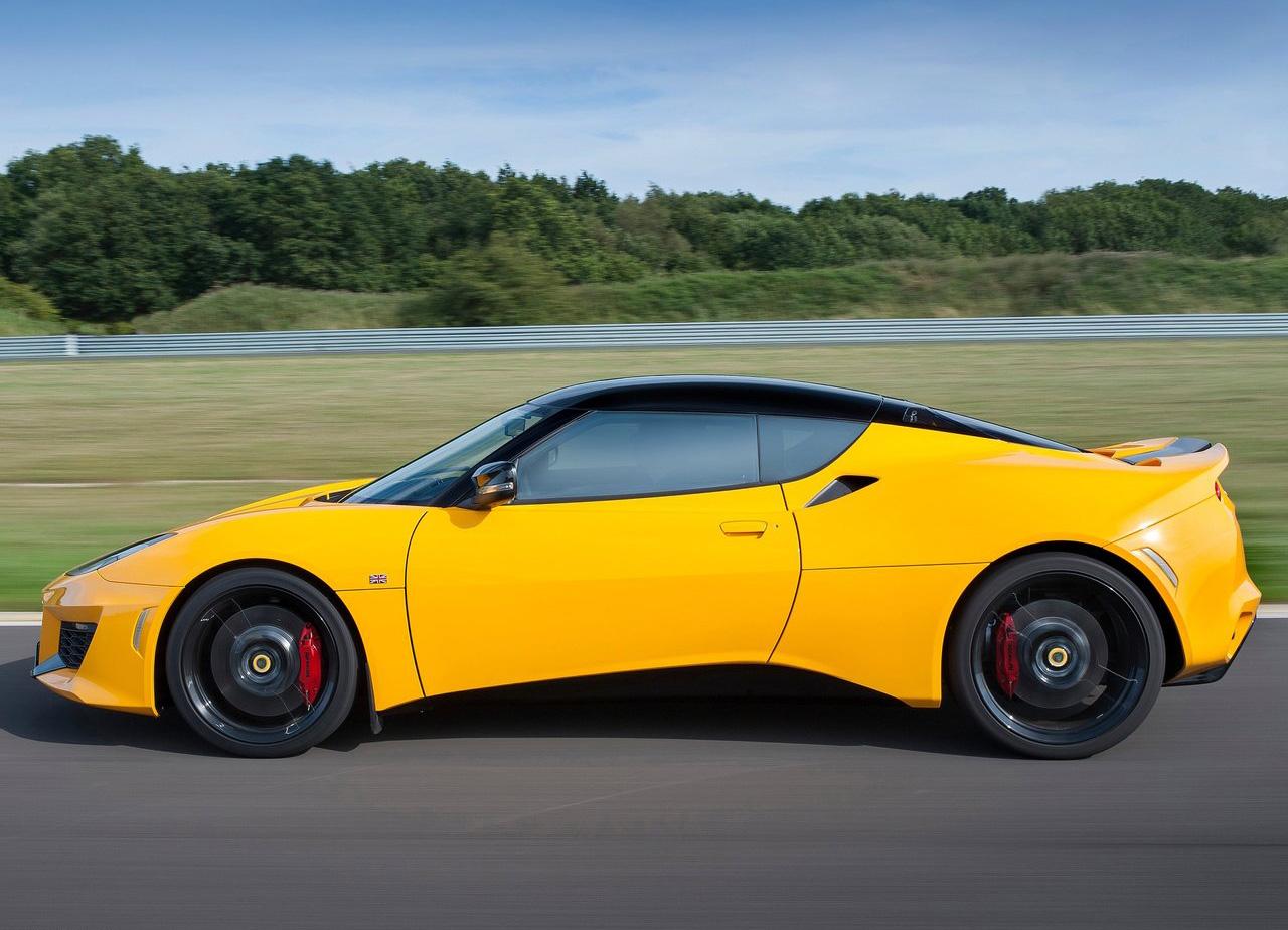 2016 Lotus Evora 400 side profile