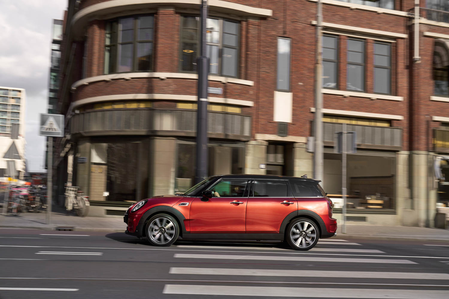 2019 MINI Clubman driving profile