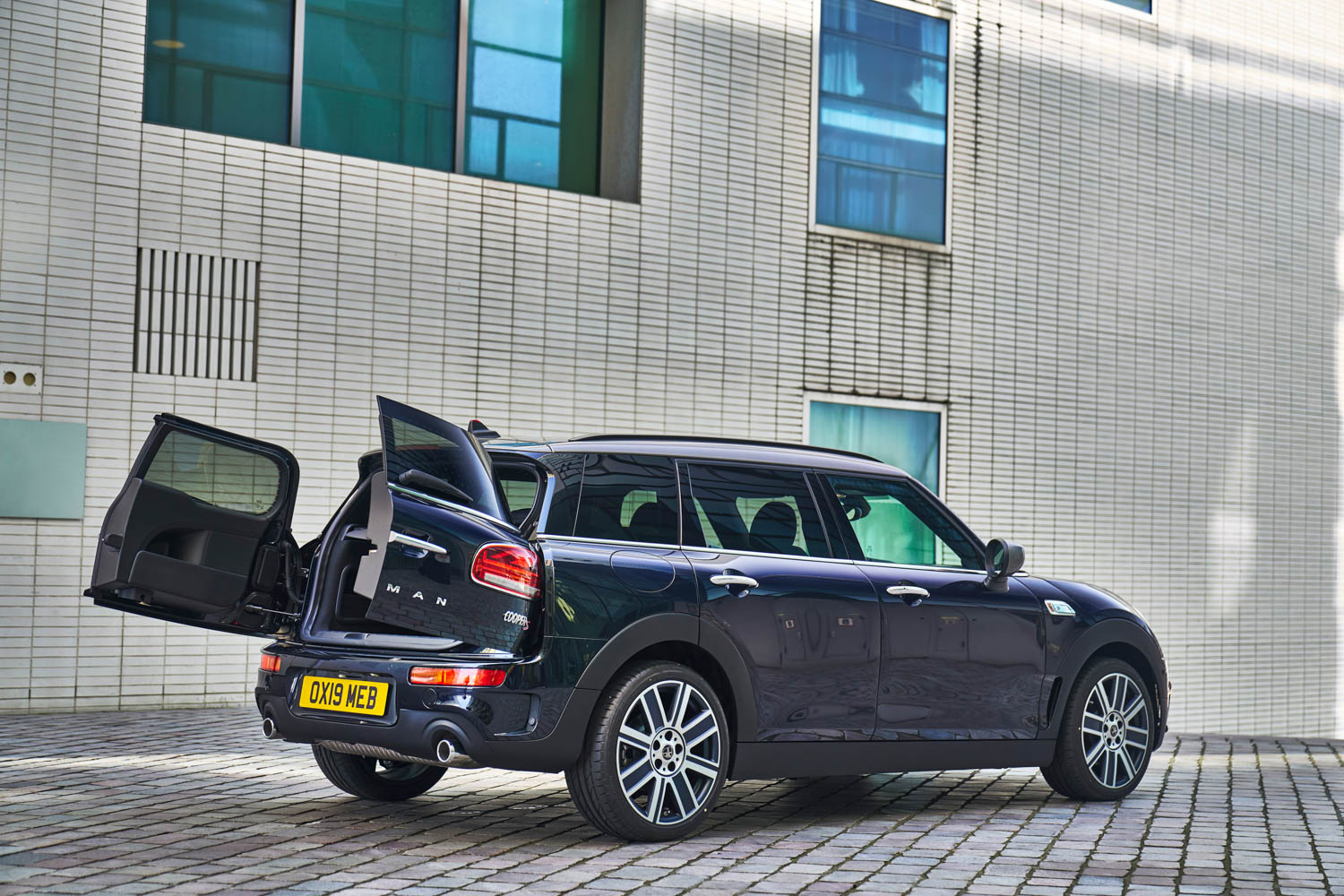 2019 MINI Clubman rear 3/4 doors open