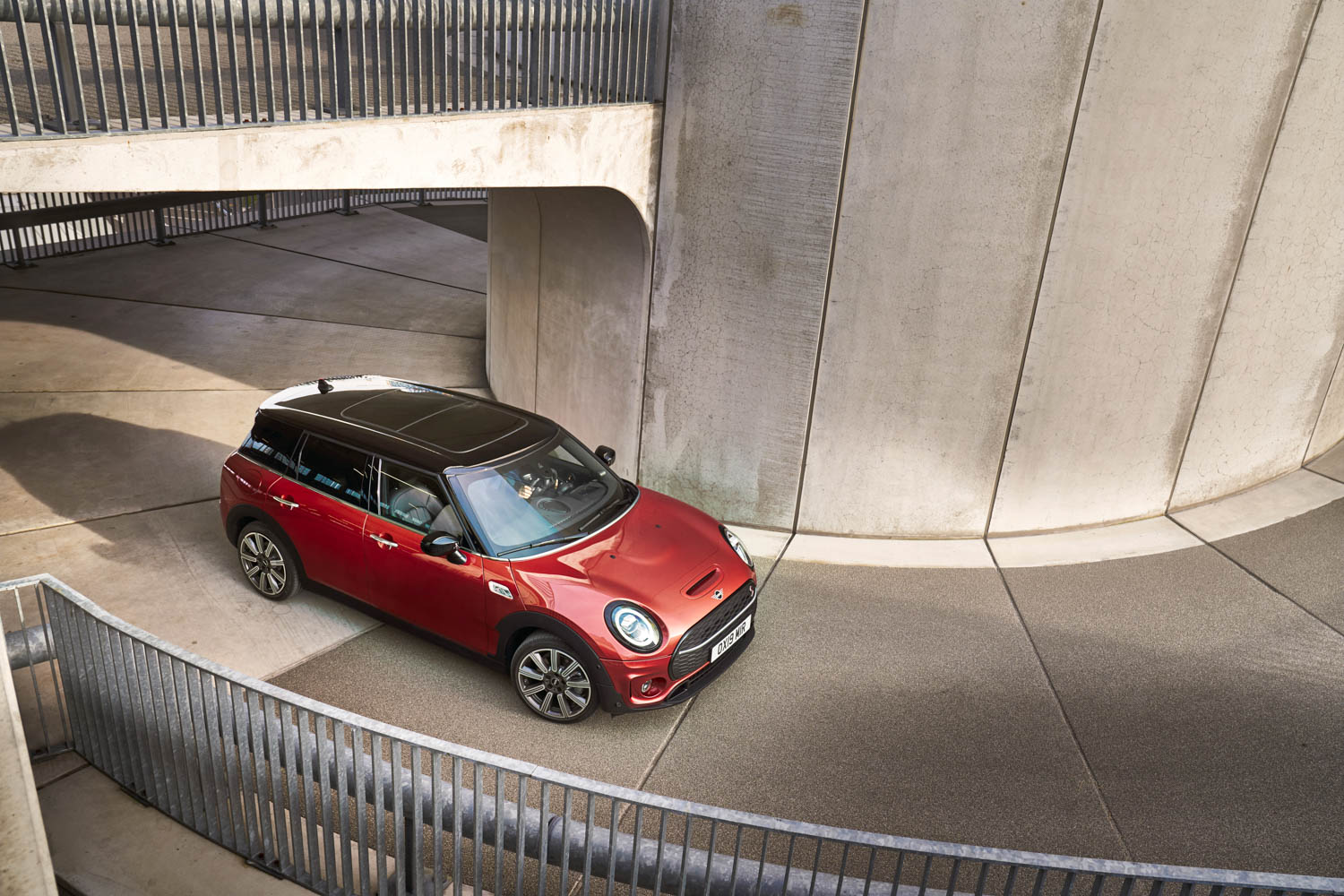 Red 2019 MINI Clubman
