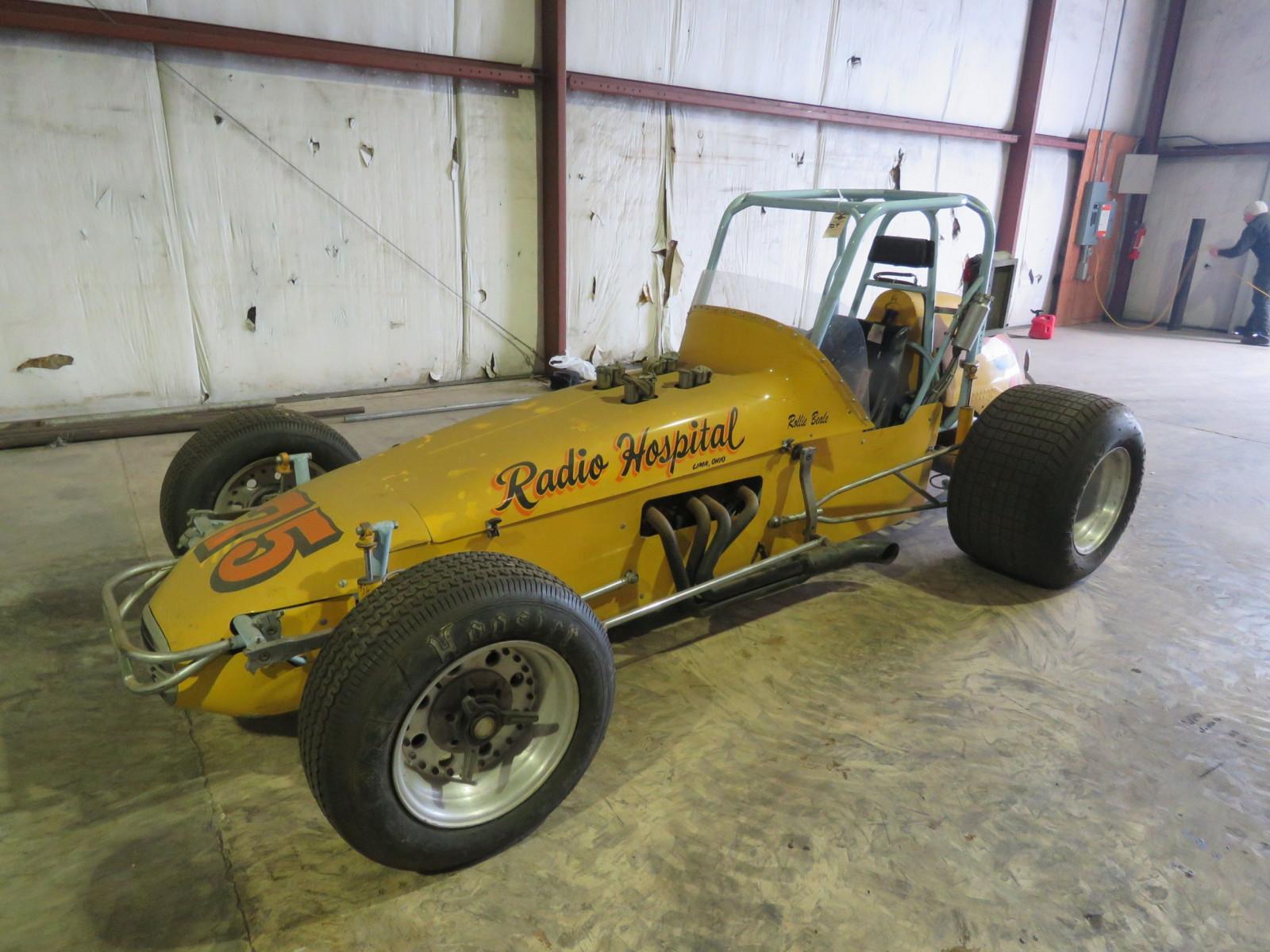1972 open-wheel dirt racer