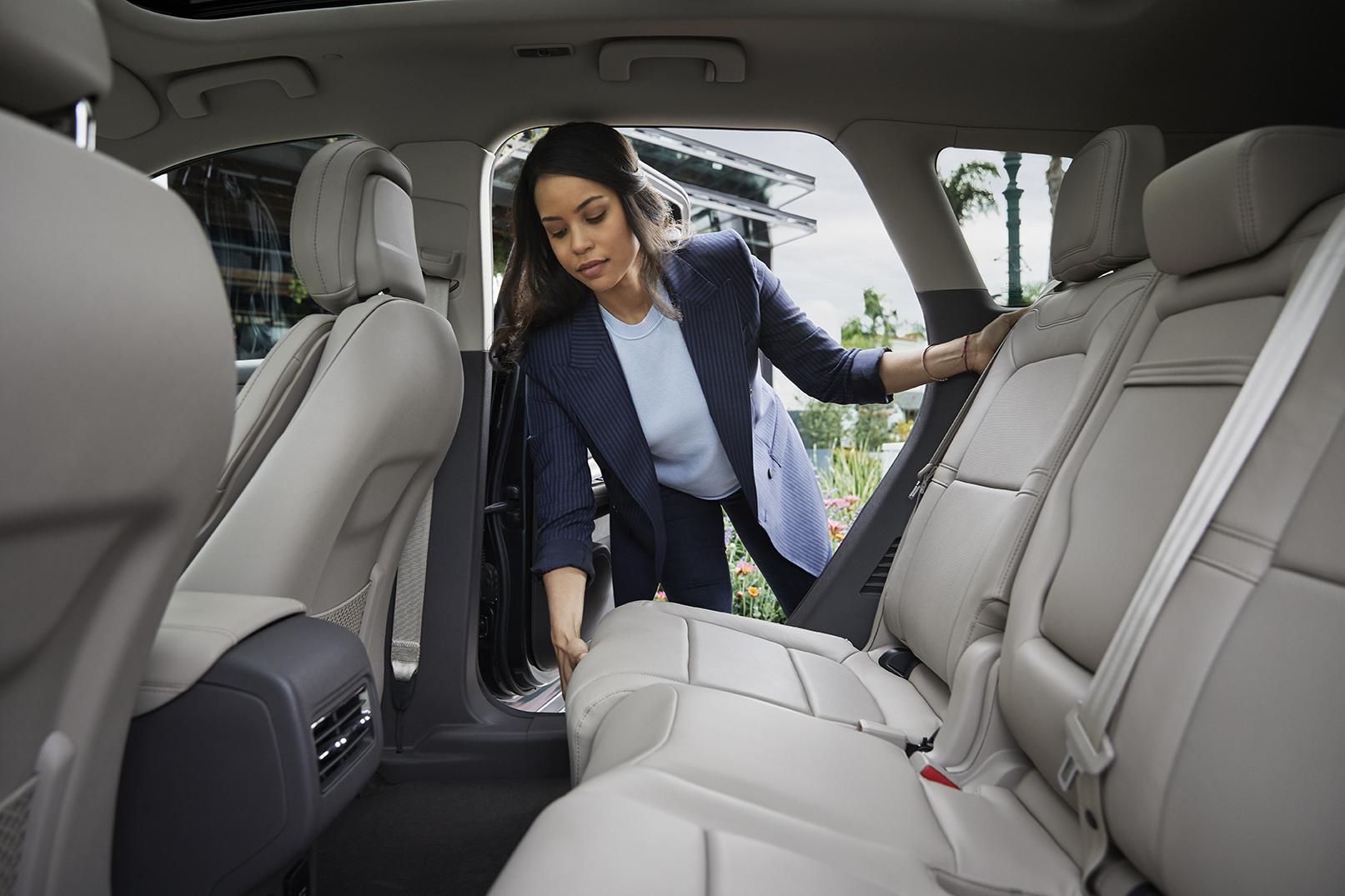 2020 Lincoln Corsair rear seat