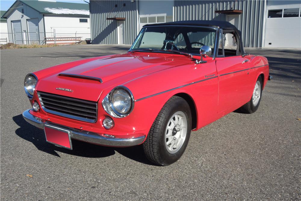 1965 Datsun 1500 front 3/4
