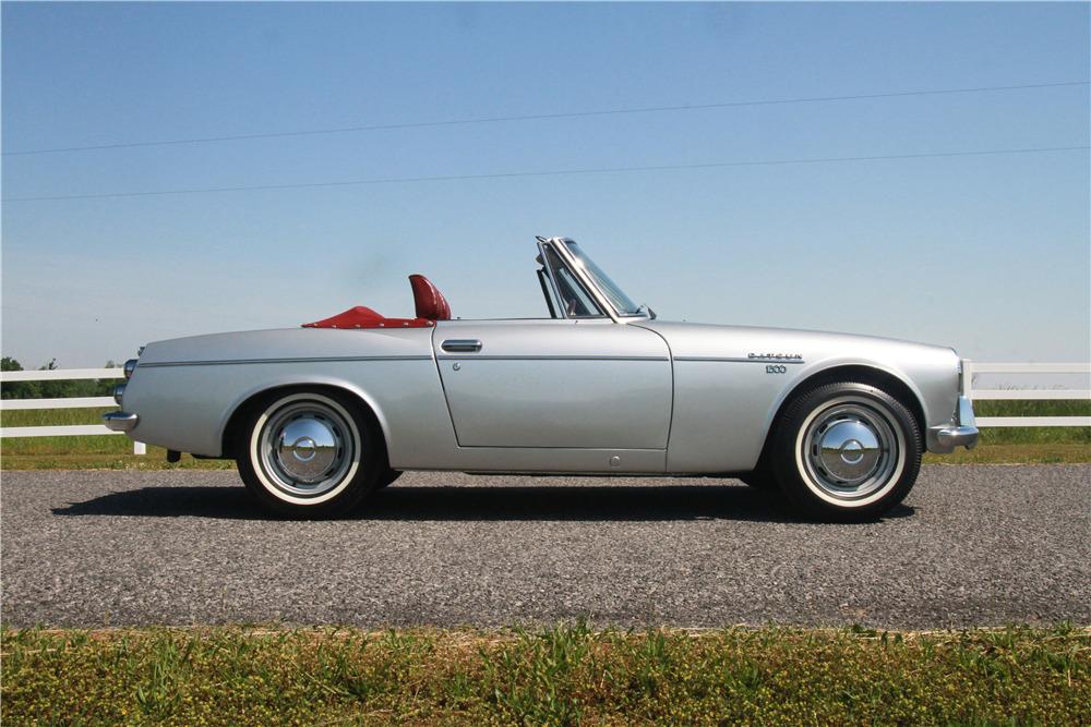 1968 Datsun 1600 profile