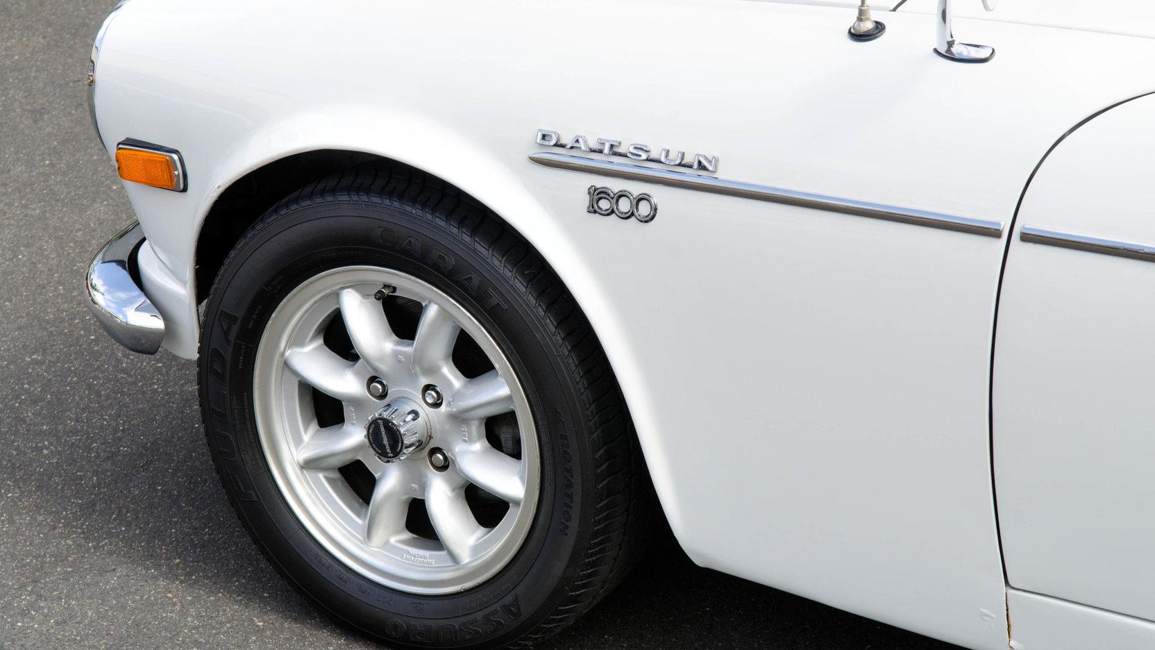 1970 Datsun 1600 wheel detail