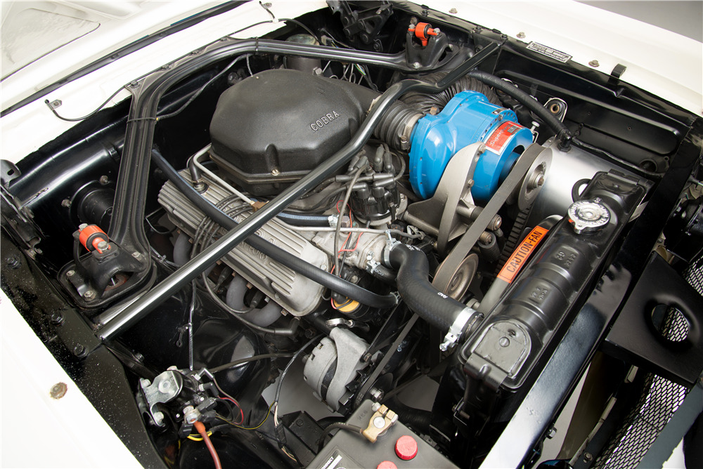 1966 Shelby GT350 with Paxton supercharger