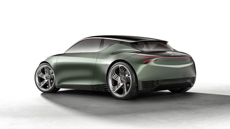 Genesis Mint Concept rear 3/4