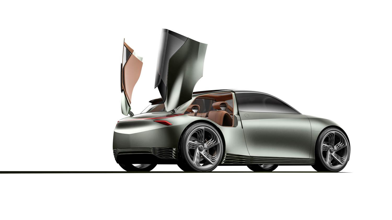 Genesis Mint Concept trunk up