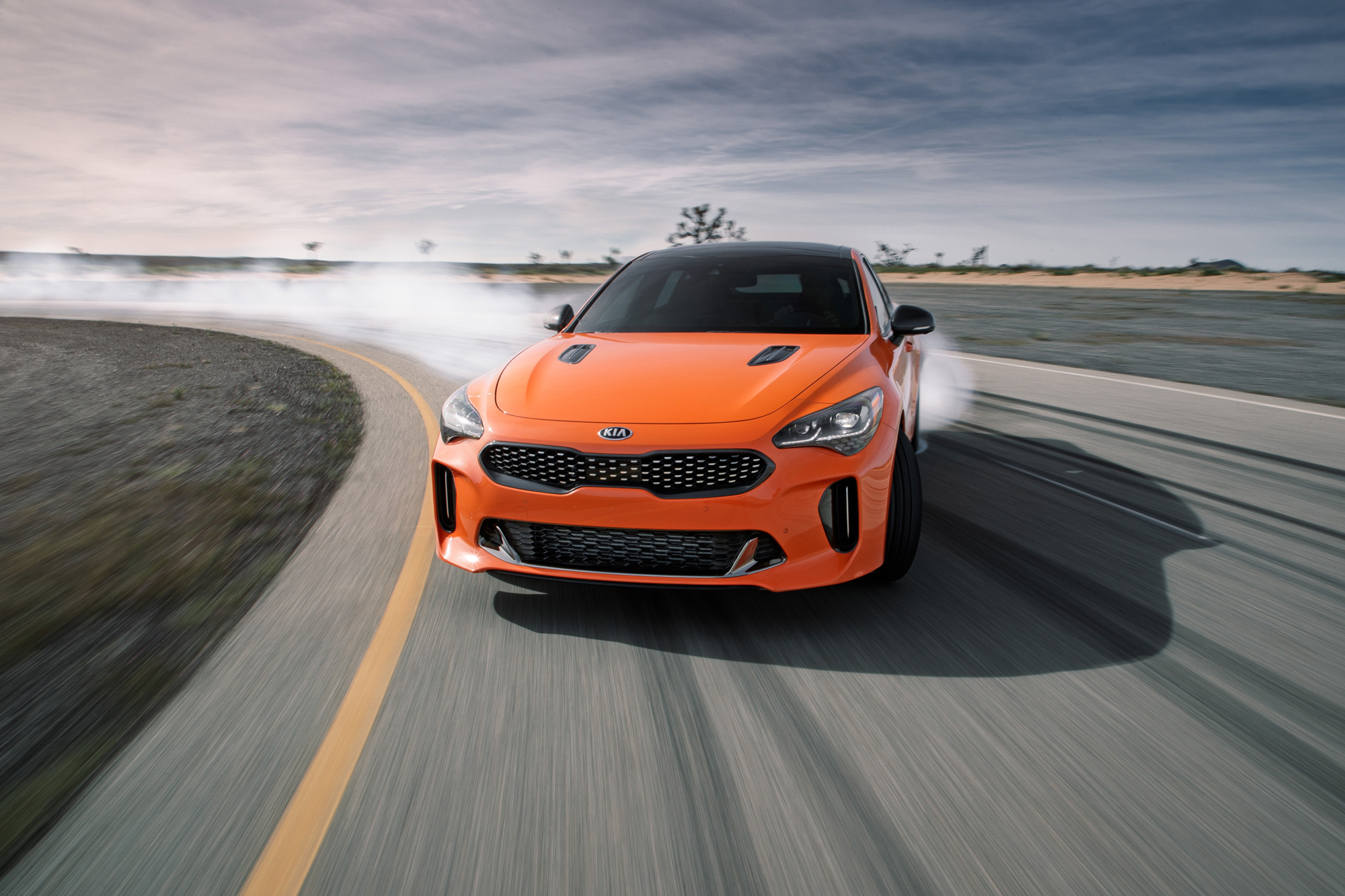 Kia turns up the heat with the Stinger GTS thumbnail